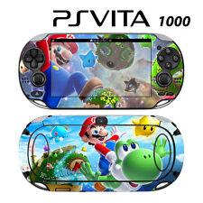 Vinyl Decal Skin Sticker for Sony PS Vita PSV 1000 Super Mario Yoshi