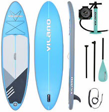 Vilano PathFinder Inflatable SUP Stand Up Paddle Board, Complete KIT: Board,