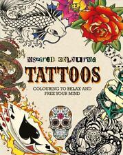 Adult Colouring - Tattoos (Inspired Colouring), Parragon, New, Book