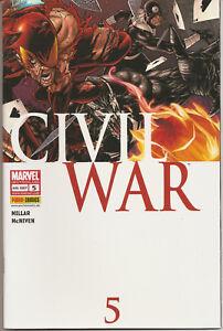 °CIVIL WAR #5 SCHURKEN, SCHURKEN, SCHURKEN!° Panini 2007