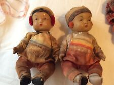 Vintage Composition Oriental - Asian Dollls - Must See!!