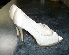 Womens Cream Stiletto shoes - New - Size 9