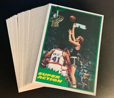 LOT OF 50 1981 TOPPS BASKETBALL #101 LARRY BIRD CELTICS HOF  PACK FRESH SHARP