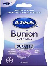 Dr Scholl's Bunion Cushions Thin & Flexible 5 Ct Duragel Technology