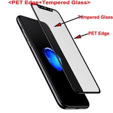 Für iPhone X 360 ° vorne & hinten 3D gebogener gehärteter Glasschirm-Schutz