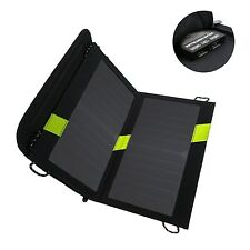 X-DRAGON 14W Dual USB Sunpower Solar Panel Charger with iSolar™ Technology fo...