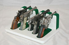 Creighton 5-Slot 01S - NEW Mixed Sizes Subcompact WHITE & GREEN Gun Stand / Rack