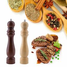 NEU Pfeffermühle, Holz, hell, Keramik Mahlwerk, Gewürzmühle Salzmühle Beige