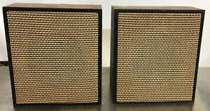 Vintage Wall Mount Speakers Loudspeaker Quam C10
