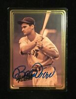 BOBBY DOERR 1992 ACTION PACKED AUTOGRAPHED SIGNED AUTO BASEBALL CARD 8