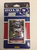 2013 NEW YORK GIANTS Score Football Card Team Set 10 Cards Eli Manning +