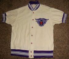 Vintage 1966-67 Northwestern Wildcats Game Used Worn Baseketball Warmup Jacket