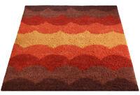 Mid Century Danish Modern Rya Style Shag Rug / Carpet Herman Miller Era (8X10)