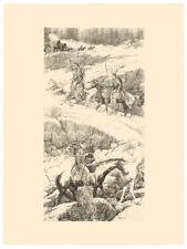 Bev Doolittle SHOSHONE SWITCHBACK, Original Stone Lithograph #/225