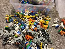 8 lego duplo figure people animal random pick