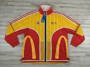 New Adidas Eric Emanuel McDonalds Mens REVERSIBLE TRACK TOP Size Small Large