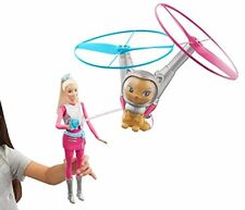 Barbie in Star light Adventurer Barbie Doll With Space Cat Flies on Leash New