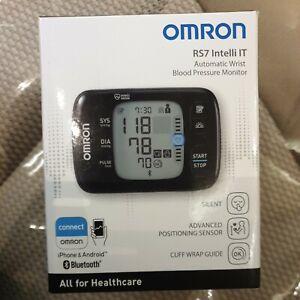 OMRON RS7 Intelli IT Wrist Blood Pressure Monitor - New