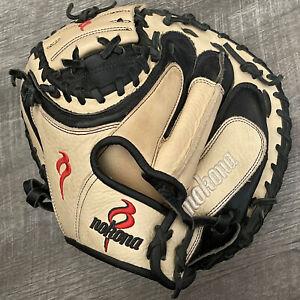 "Nokona 33 Inch Elite Baseball Catchers Mitt Glove 33"" Left Handed Throw"