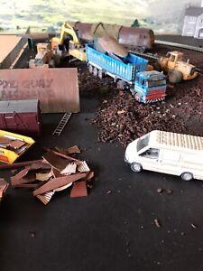 oo gauge model railway diorama Scrapyard.