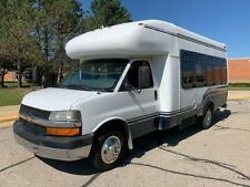 Chevrolet 3500 Church Shuttle Bus Van, 6.6 Duramax Diesel, 12 Plus 2 Wheelchairs