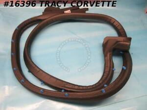 1990-1996 Corvette Door Weatherstrip GM# 10269865 Left Hand