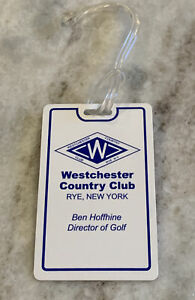 Westchester Country Club Course Golf Bag Name Tag Private Logo NEW