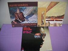 STEVIE WONDER ULTIMATE  VINYL GATEFOLD LP SET OF 3 INNERVISIONS,TALKING SEALED