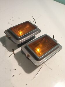 1977-1979 Cadillac Fleetwood Deville Front Marker Turn Signal Park Light Lamp 1A