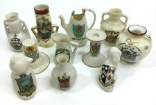 More details for job lot collection of 11 pieces of crested china