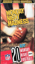 Vintage Monday Night Madness 20 The Very Best of Football NFL abc VHS Tape 1989