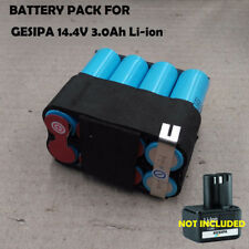 Battery Pack For Gesipa Rivet Gun AkkuBird Powerbird 14.4V 3.0Ah Li-ion