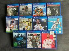 **PS4 Spiele Sammlung / Konvolut  - 11 Stück - sehr guter Zustand!**