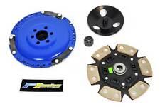 FX RACING STAGE 3  6PUCK CLUTCH KIT 84-92 VW JETTA 85-92 GOLF 1.8L SOHC 8-VALVE