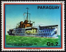 1923 GIUSEPPE MIRAGLIA Catapult Aircraft Carrier / Seaplane Tender Warship Stamp