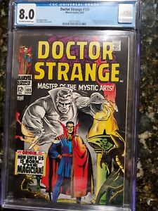 Doctor Strange #169 cgc 8.0 1st Dr. Strange in his own title! New Movie/TV!