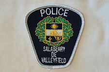 French Canadian Quebec Salaberry de Valleyfield Police Patch Small Obsolete