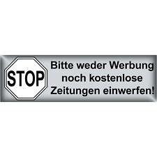 Sticker Please No Advertising Advertisement Newspapers Insert Mailbox Sticker