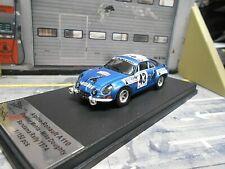 RENAULT Alpine A110 Rallye Bandama #43 Mehta Doughty Gitanes 1974 Trofeu 1:43