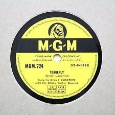 "BILLY ECKSTINE ""Tenderley / Fortune Telling Cards"" M-G-M- 724 [78]"
