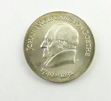 e11255 20 DDR Mark Silber Johann Wolfgang von Goethe