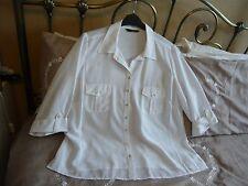 Bon Marche blouse blanche taille 22