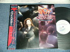 PAT BENATAR Japan 1988 White Label Promo NM LP+Obi WIDE AWAKE IN DREAMLAND