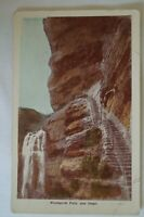 Wentworth Falls & Steps NSW Antiquarian Vintage Collectable Postcard.