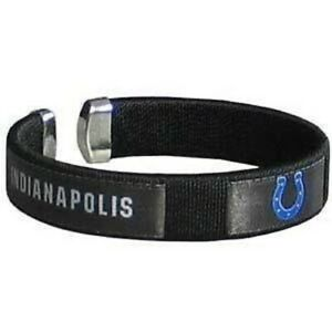 INDIANAPOLIS COLTS FAN BAND CUFF BRACELET