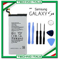 BATTERIA EB-BG920ABE SAMSUNG GALAXY S6 G920F 2550MAH PARI A ORIGINALE+CACCIAVITI