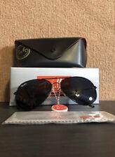 Ray-Ban RB3026 Aviator Sunglasses - Black Unisex