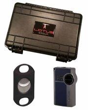 Lotus LGS5110 Genesis Big Daddy Cutter Gift Set Blue Lighter Warranty