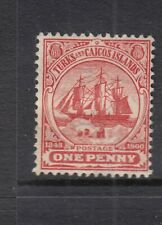 TURKS AND CAICOS ISLANDS SG111, 1d red, - heavily mounted mint