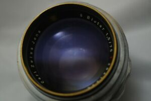 Arriflex PL Adapted Carl Zeiss Jena Biotar 75mm 1:1.5 F1.5 VGC: Exakta: Pls read